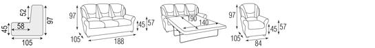 Лувр диван